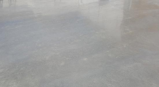 Burnished & Smooth Finish Concrete
